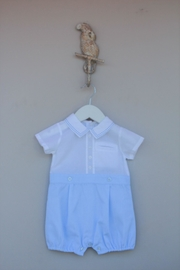 Dr. Kid Blue/white One-Piece - Front cropped