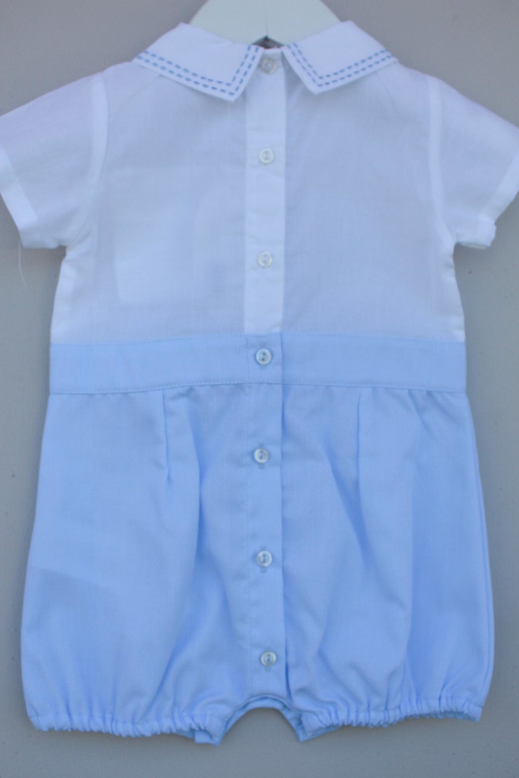 Dr. Kid Blue/white One-Piece - Side Cropped Image