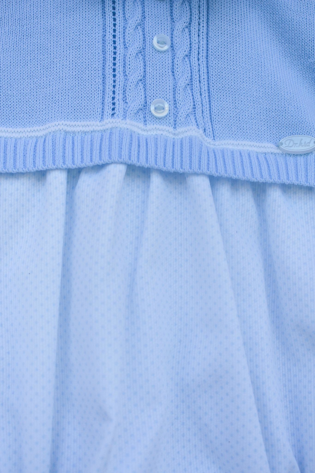 Dr. Kid Light Blue One-Piece - Front Full Image