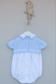 Dr. Kid Light Blue One-Piece - Side cropped