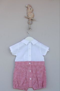 Dr. Kid Red/white Gingham One-Piece - Alternate List Image