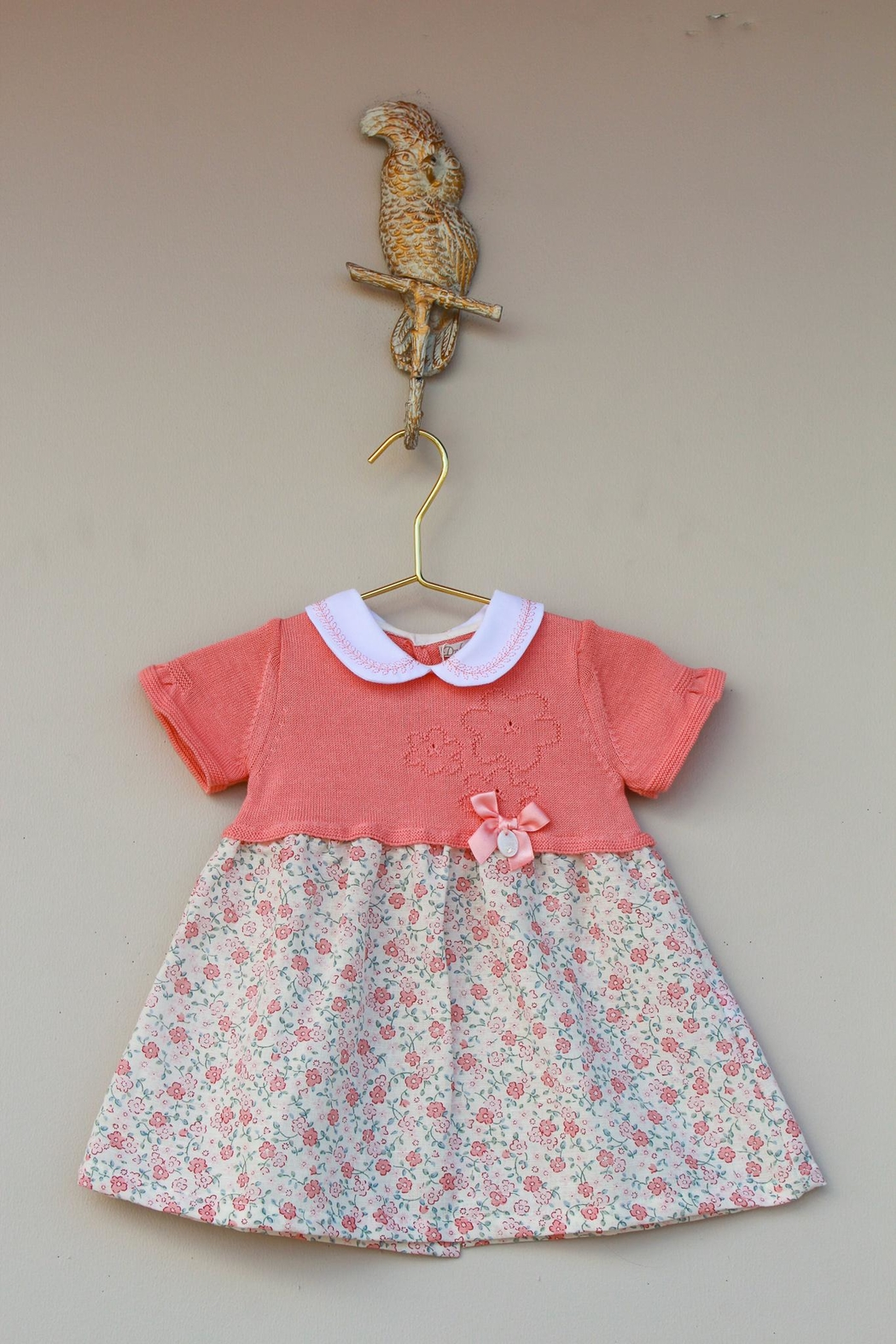 Dr. Kid She's Peachy Dress - Front Cropped Image