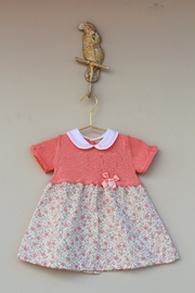 Dr. Kid She's Peachy Dress - Front cropped