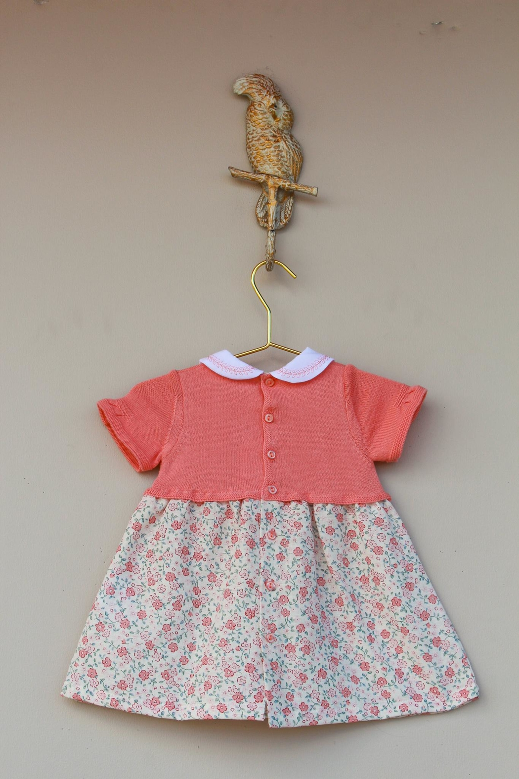 Dr. Kid She's Peachy Dress - Side Cropped Image