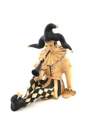 Dr. Livingstone Jester Sitting With Horn - Product Mini Image