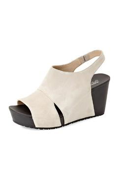 Shoptiques Product: Tan Suede Wedge