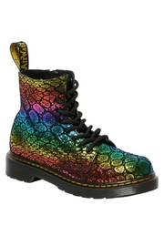 Dr Martens  Dr. Martens Junior Pascal Metallic Suede Ankle Boot - Product Mini Image