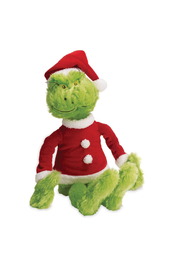 Manhattan Toy Company Dr. Suess The Grinch In Santa Suit - Product Mini Image