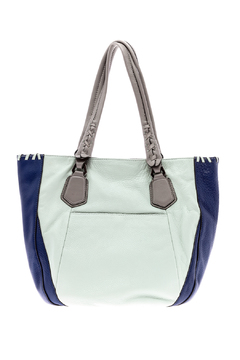 Shoptiques Product: Light Blue Leather Bag