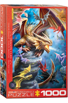Shoptiques Product: Dragon Clan 1000 Piece Puzzle