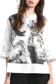 Gracia Dragon Printed Top - Product Mini Image