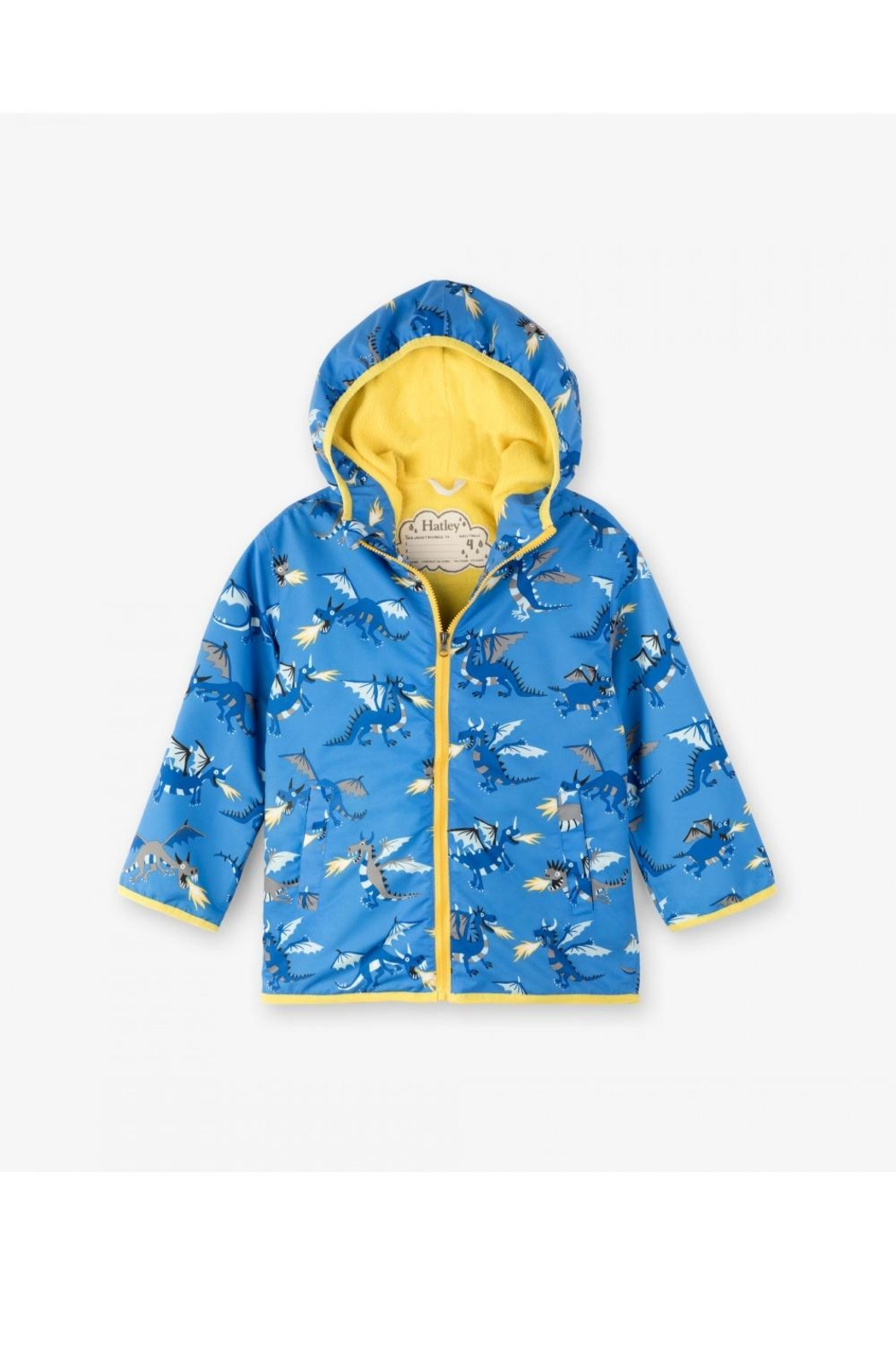 Hatley Dragon Rain Jacket - Front Cropped Image
