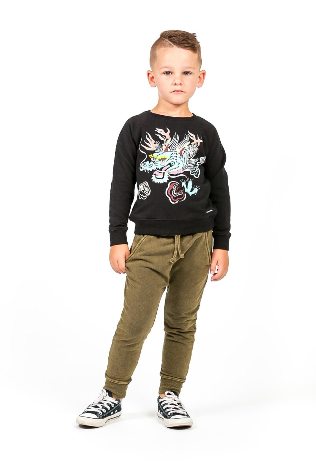 Rock Your Baby Dragon Sweater - Side Cropped Image
