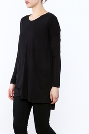 Dragonfly Black Tunic Top - Product Mini Image