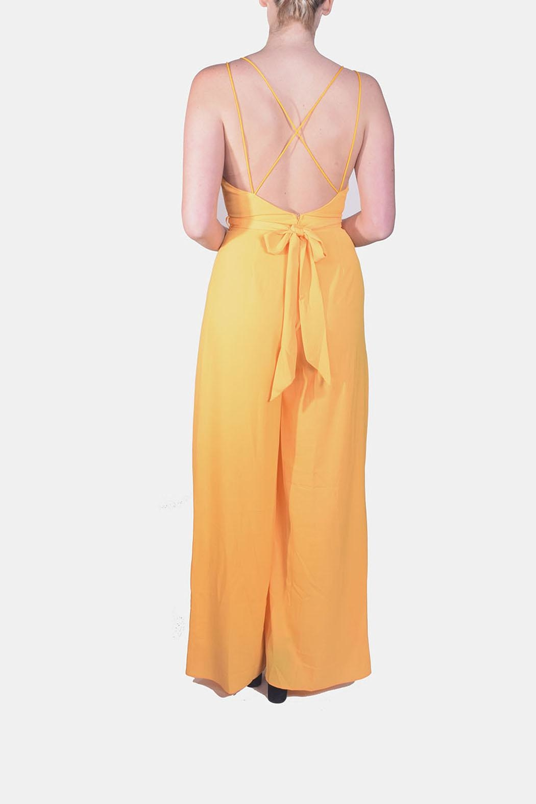 luxxel Dragonfly Open-Leg Jumpsuit - Side Cropped Image