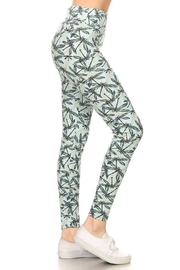 New Mix Dragonfly Yoga Legging - Product Mini Image
