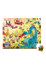 Janod Dragons 54 Piece Puzzle - Front full body