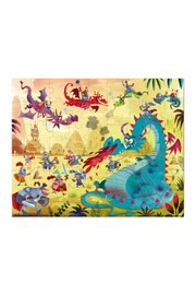 Janod Dragons 54 Piece Puzzle - Side cropped