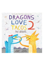 Penguin Books Dragons Love Tacos 2: The Sequel - Front cropped