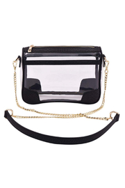 Policy Handbags Drake Clear Bag - Front cropped