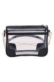 Policy Handbags Drake Clear Bag - Front full body