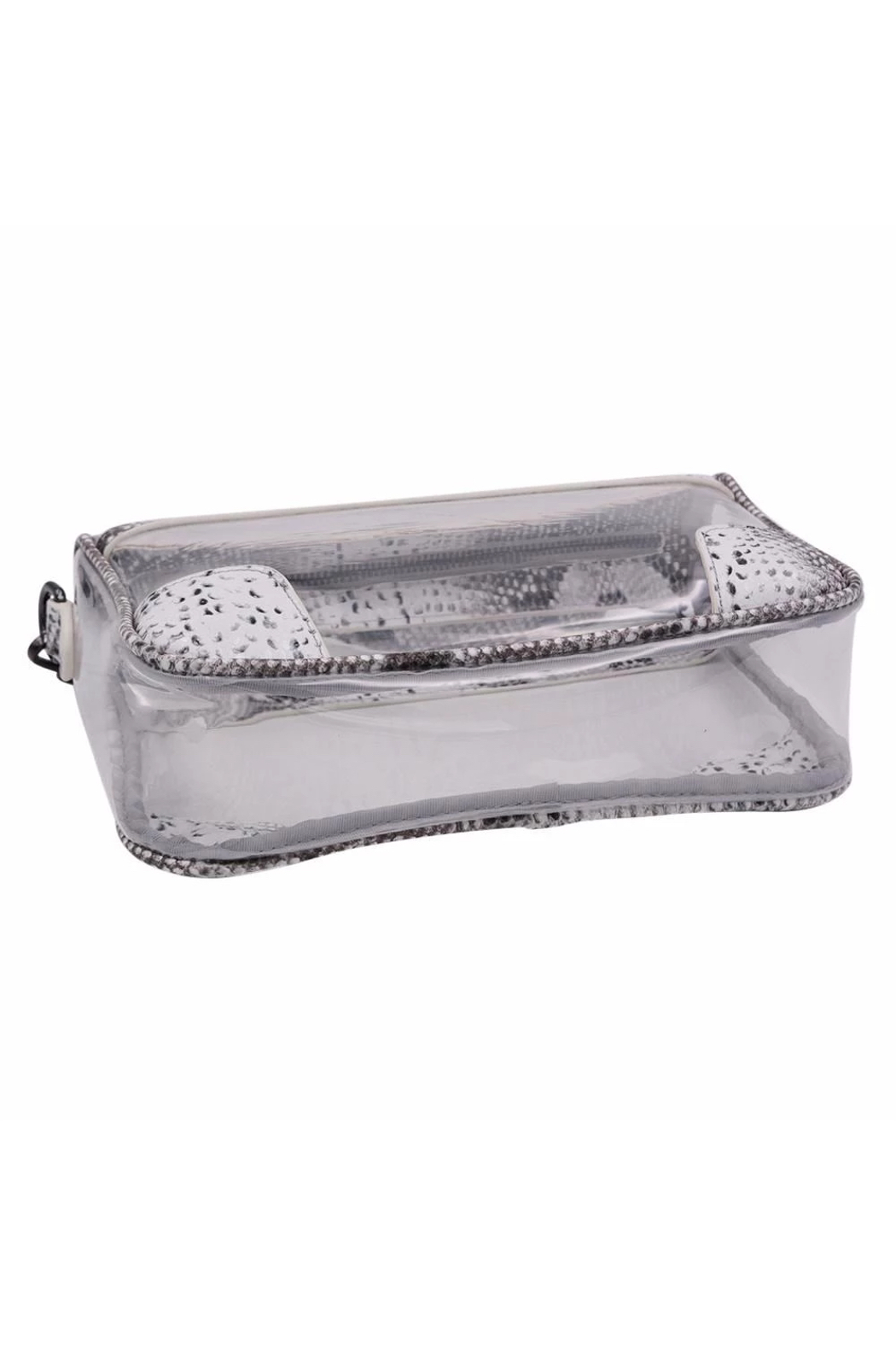 Policy Handbags Drake Clear Bag - Side Cropped Image
