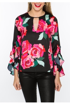 Crosby by Mollie Burch Dramatic Rose Top - Product List Image