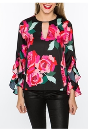 Crosby by Mollie Burch Dramatic Rose Top - Product Mini Image