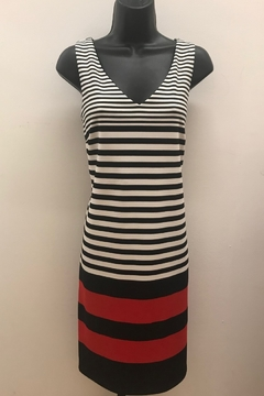 Shoptiques Product: Dramatic Striped Dress