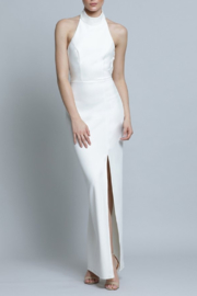 Lumier  Drape Back Gown - Front cropped