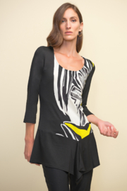 Joseph Ribkoff Drape Bottom Tunic - Product Mini Image