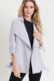Doe & Rae Drape Collar Jacket - Product Mini Image