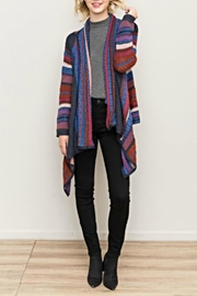 Hem & Thread Drape Front Cardigan - Product Mini Image