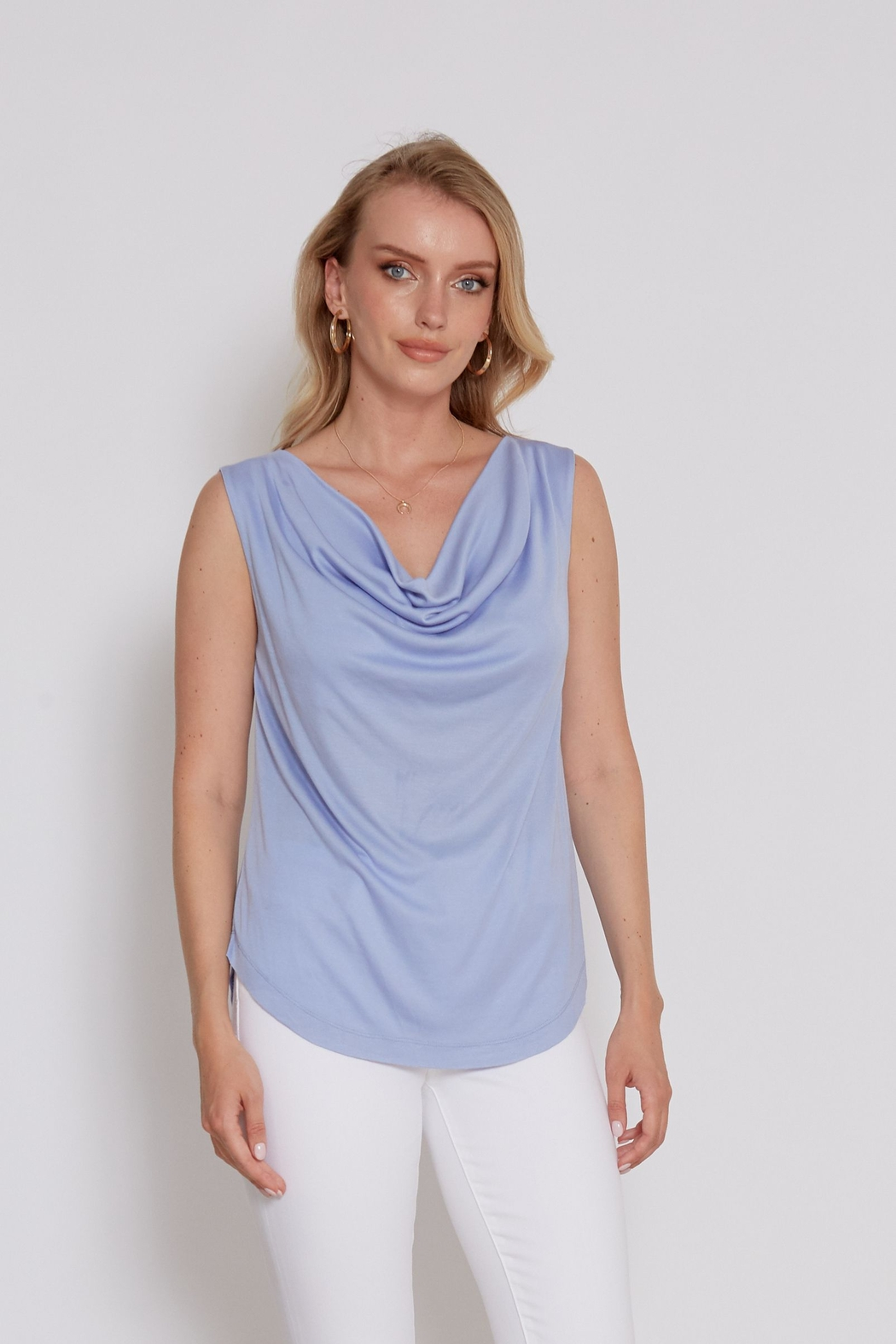 another love  Drape front Mandy Top - Main Image