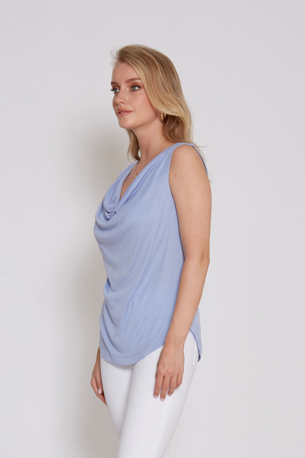 another love  Drape front Mandy Top - Front Full Image