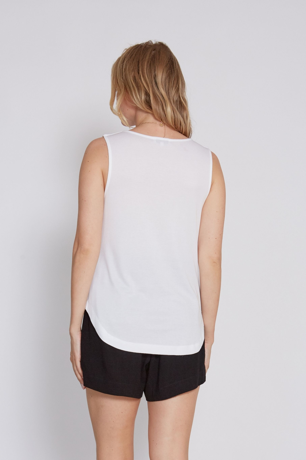 another love  Drape front Mandy Top - Side Cropped Image