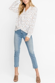 Lush Drape Hem Blouse - Product Mini Image