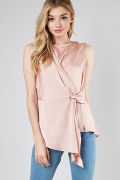 Do & Be Drape Knot Top - Product List Image