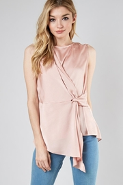 Do & Be Drape Knot Top - Product Mini Image