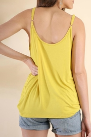 Umgee USA Drape-Neck Strappy Tank - Side cropped