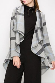 HYFVE Drape Open Coat - Product Mini Image