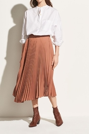 Vince Drape Pleated Skirt - Product Mini Image