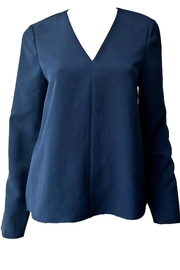 Tibi Drape Twill Top - Front cropped