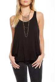 Chaser Draped Back Tank - Front cropped