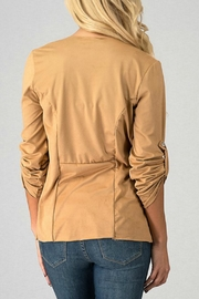 Trend:notes Draped-Collar Jacket - Side cropped