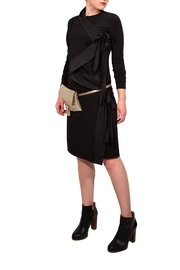 Helena Jones Draped Dress - Product Mini Image
