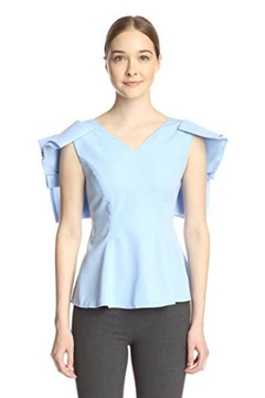 Gracia Draped Frill Blouse - Product List Image