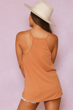 Fantastic Fawn Draped Front Cami Top - Alternate List Image