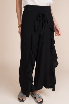 Ivy Jane / Uncle Frank  Draped Front Ruffle Pant - Product List Image