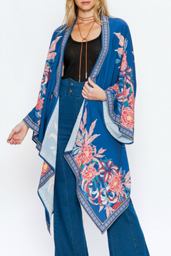 c3f2448f6d6d27 ... Flying Tomato Draped kimono with floral print - Product List  Placeholder Image